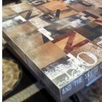 שולחן מודפס