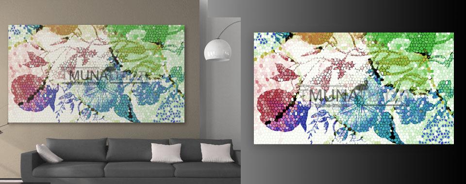 Colored pixels