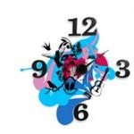 שעון חדר ילדים